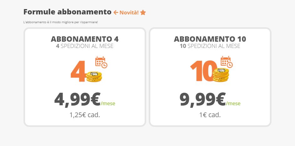 tariffe abbonamento indabox