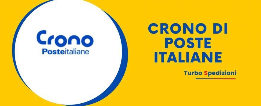 crono di poste italiane